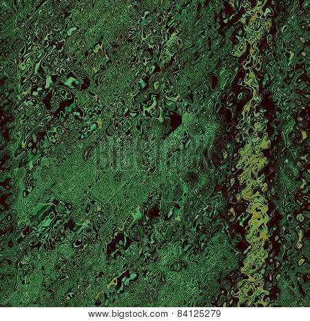 Green grunge abstract background.