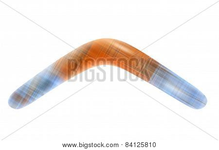 Color Boomerang.isolated.