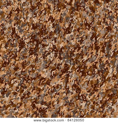 Vector Background. Shades Of Brown.
