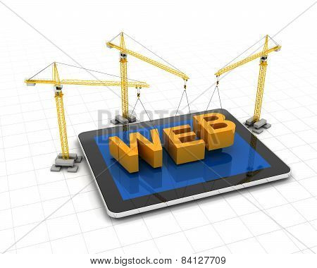 Constructing website