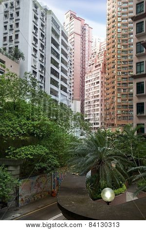 Multi-storey Residential Buildings In Hong Kong