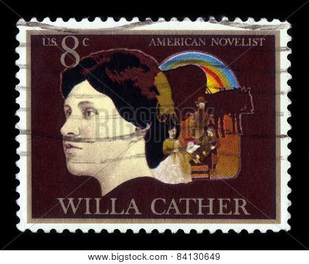 Willa Sibert Cather American Author