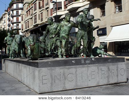 Monument to the confinement of bulls.