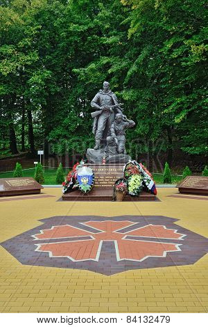 Memorial To Warrior  Scout. Kaliningrad, Russia