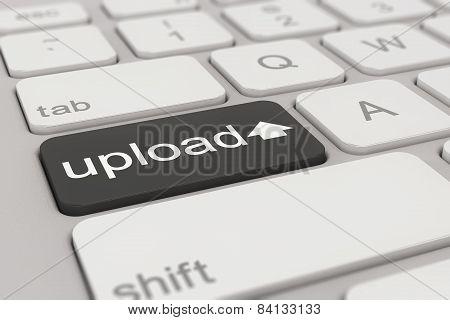 Keyboard - Upload - Black