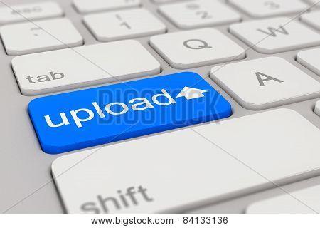 Keyboard - Upload - Blue