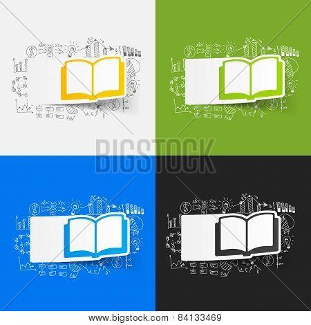 Drawing business formulas. book