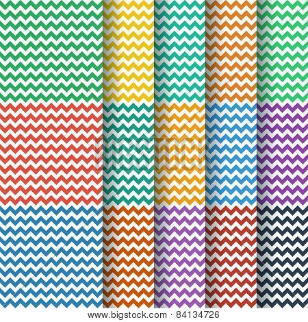 Chevron Seamless Pattern Collection