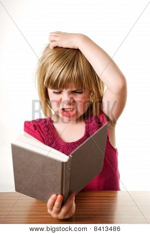 frustrated with book