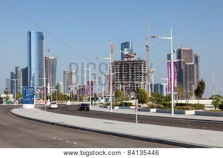 Al Maryah Island In Abu Dhabi