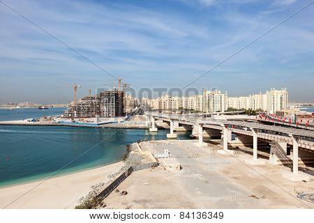 Palm Jumeirah highway, Dubai
