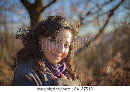 Beautiful Girl Smiles