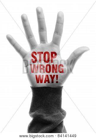 Stop Wrong Way