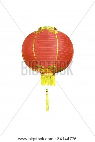 Chinese Lantern Isolated