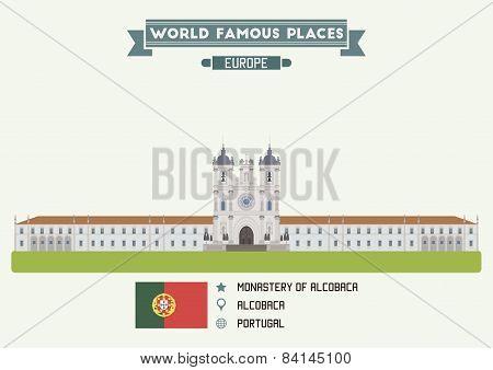 Monastery Of Alcobaca, Portugal