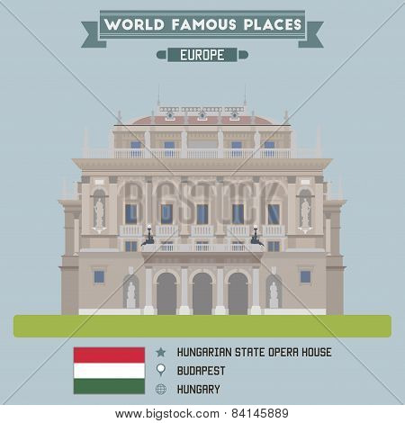 Hungarian State Opera House. Budapest