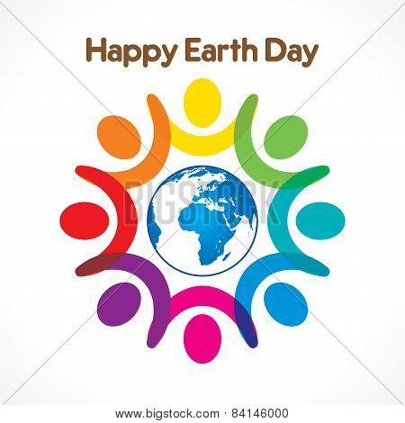 happy earth day design