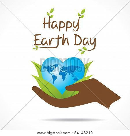 earth day greeting design