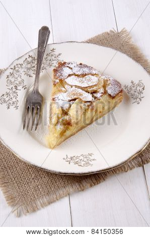 Apple Cake With Icing Sugar