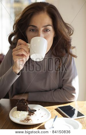 Drink Coffee Looking