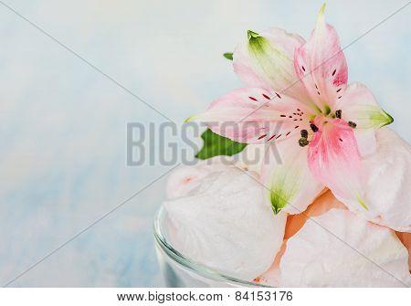 Meringues And Flower