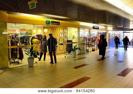 Vilnius City Seskine District Humana Shop On October 24, 2014