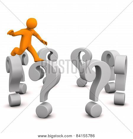 Manikin Questions Jump