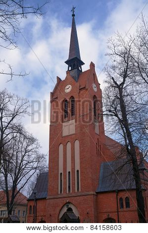 Tower neo-Gothic church