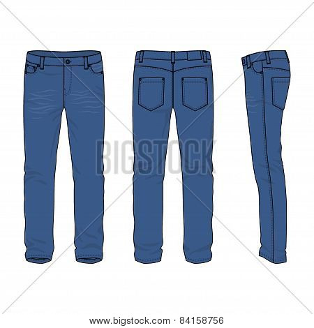 Men's Jeans.