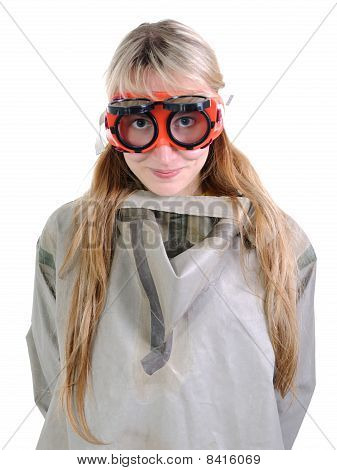The Person With Goggles