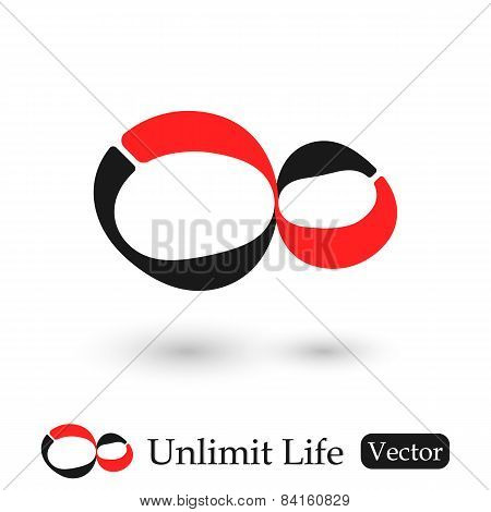 Infinity Symbol ( Unlimited Life )