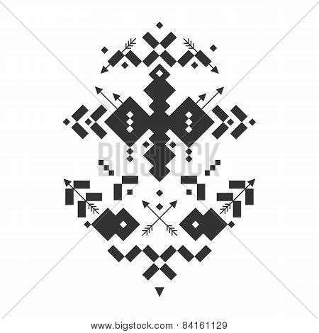 Vector Tribal elements, ethnic collection,