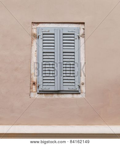 Old Facade Window