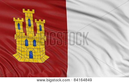 3D Castile-La Mancha flag