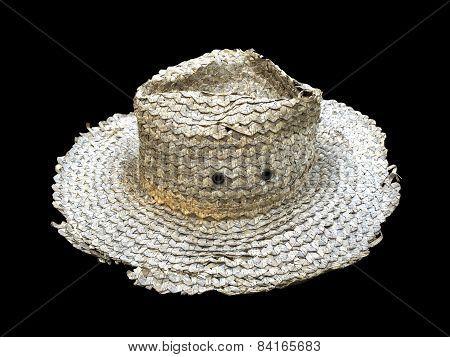 old gray hat (Die cutting)