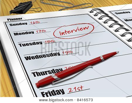 Interview Schedule