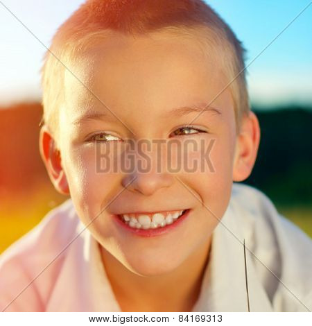 Happy Kid Portrait