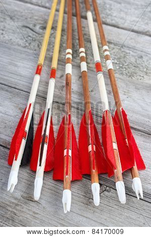 Homemade arrows