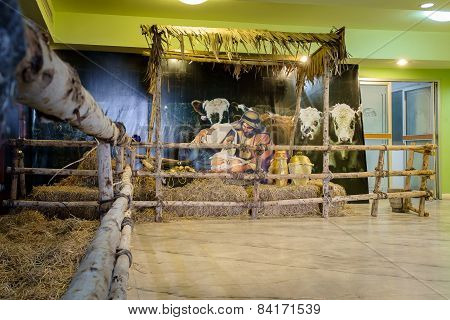 Christmas Manger Scene Display