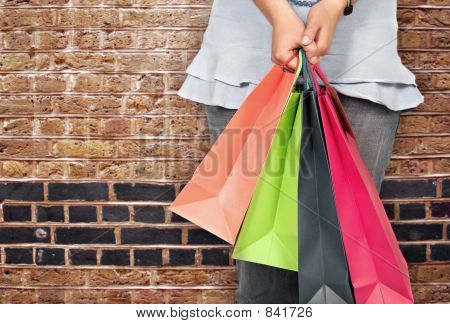 rua de compras