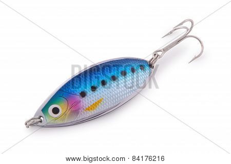 Gold Fishing Spoon (clipping Path)