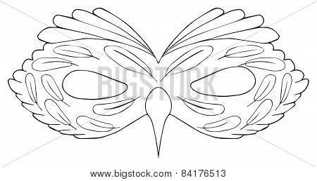 Happy Holiday - Mask Of Bird With A Cirrus