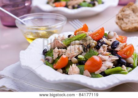 Plate Of Tuna Salad