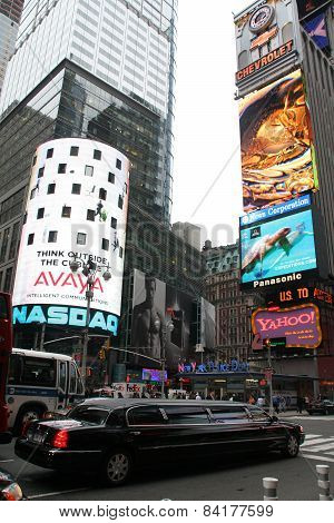 Times Square Is The Cultural Center Of New York City.