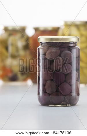 Pickled Balck Olives