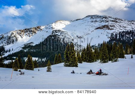 Snowmobiling San Juan National Forest