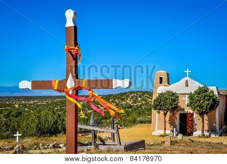 Cross and Historic Church