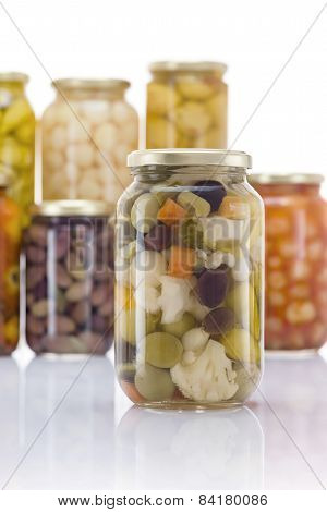 Pickled Vegetables Mix