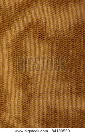 Rust Colored Knitted Background Pattern,  vertical