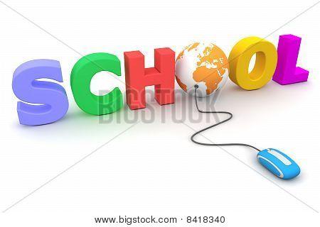 Browse The Colourful School - Orange Globe